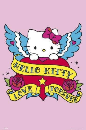 hello kitty tattoo art I have this tattooed!