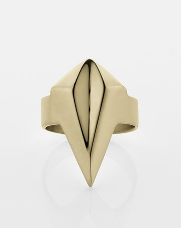 Meadowlark Faceted Ring