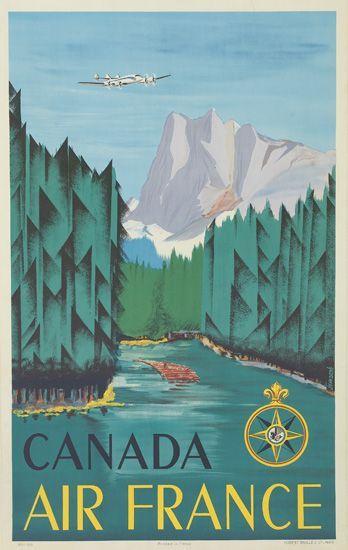 Jean Dore, Air France Canada 1951