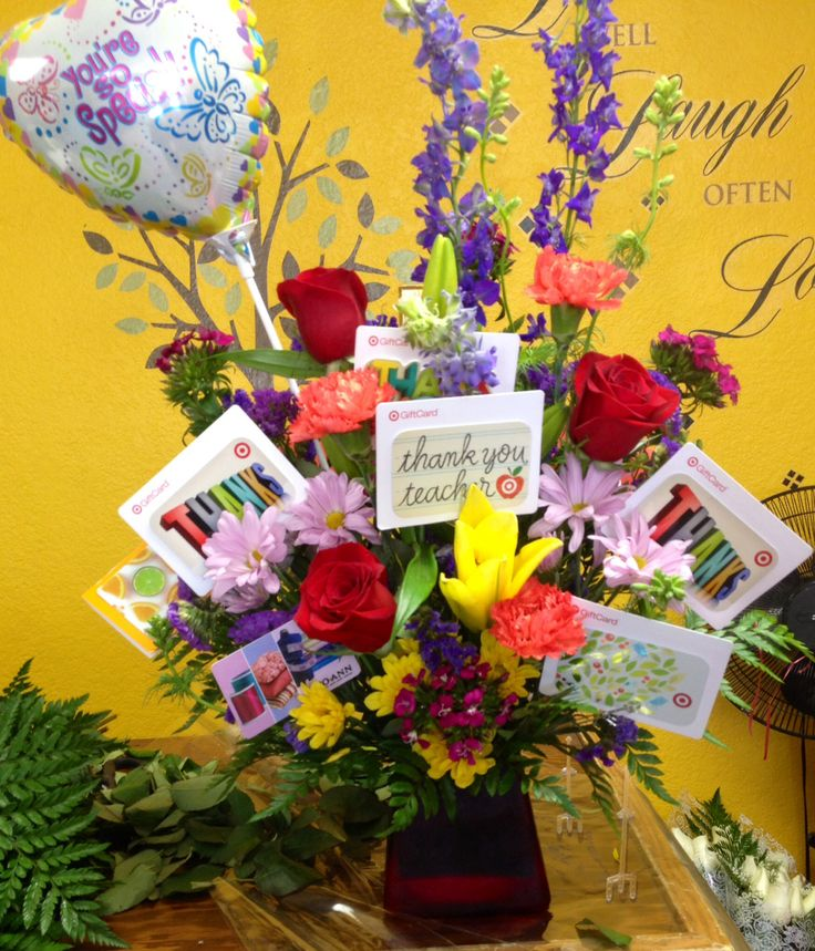 Best 25 gift card bouquet ideas on pinterest gift card basket teacher appreciation gift card flower bouquet negle Choice Image