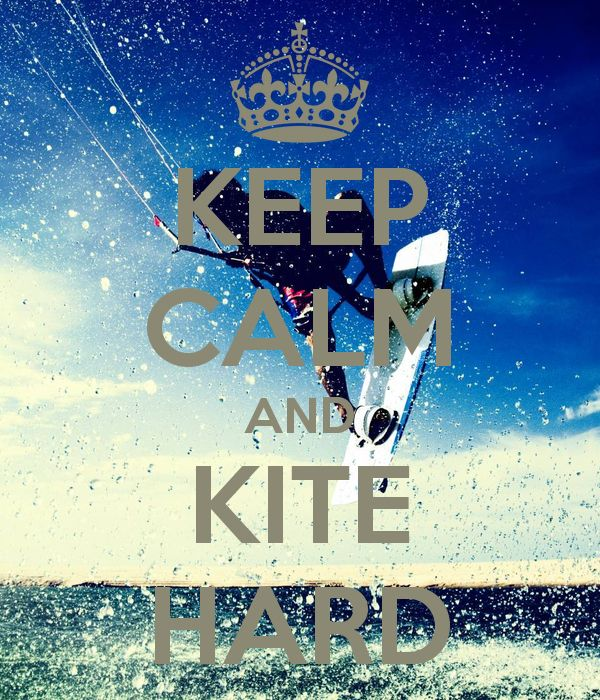 """The feeling when you're kiteboarding is""""amazing"""" :)"""