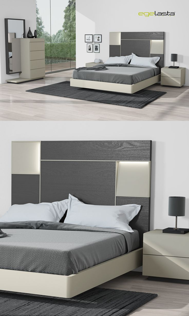 Best 25 cabeceras de cama modernas ideas on pinterest for Muebles de madera modernos