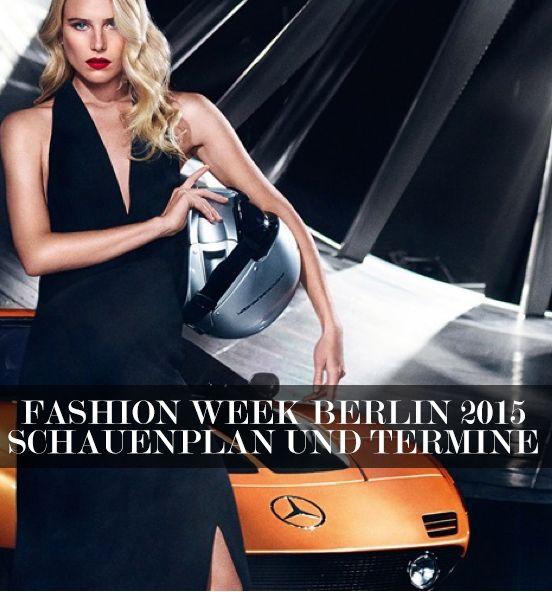 Mercedes Benz fashion Week Berlin 2015 Schauenplan und Termine: http://www.flair-magazin.de/fashion/artikel/fashion-week-berlin-2015-schauenplan-und-termine.html