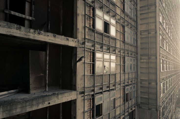 #Zabrze Szpital Opuszczony Akademickie Centrum
