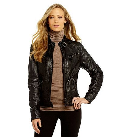 Dillards leather jackets