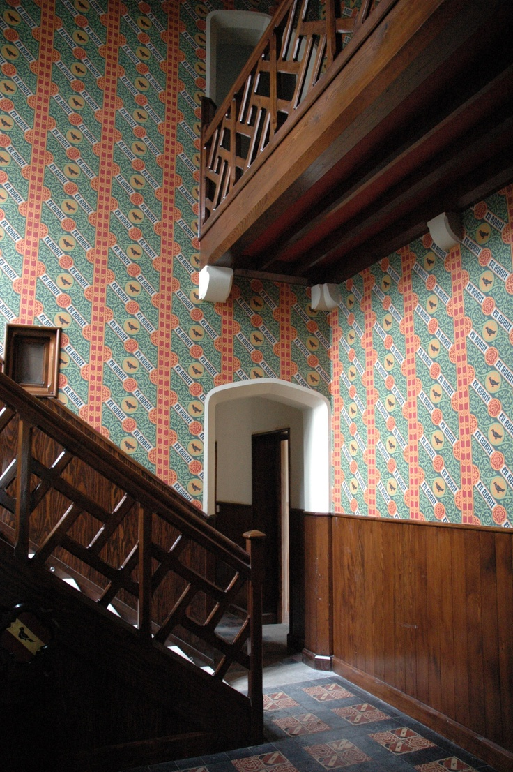 built in 1843 by Pugin, all wallpaper and building interior decor designed by Pugin