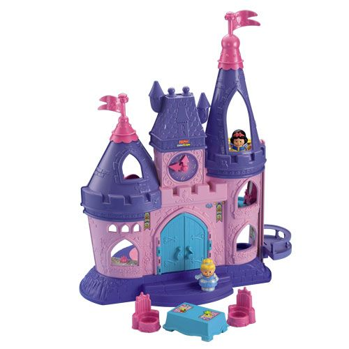 "Fisher price ""little people"" Disney princess songs palace"