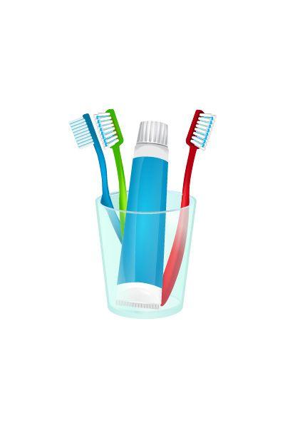 Dental Care Kit Vector Image #dentalkit #dentist #vector #vectorpack http://www.vectorvice.com/dental-vector-pack