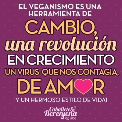 El veganismo es una herramienta de cambio!