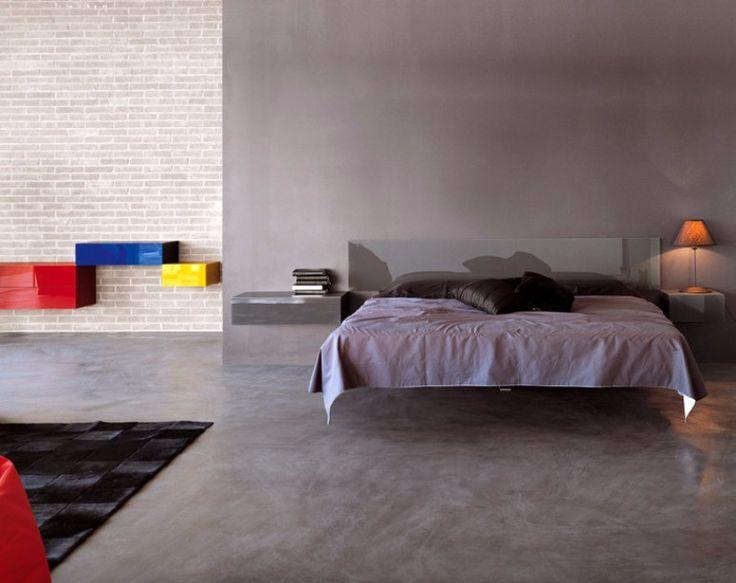 Floating suspension bed design   www.masterbedroomideas.eu #masterbedroom #bedroomideas #floatingbed #beddesign #bedideas #suspensionbed
