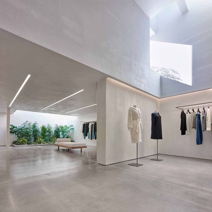 Helmut Lang Concept Store In LA By Standard Architecture Retail DesignShop Interior