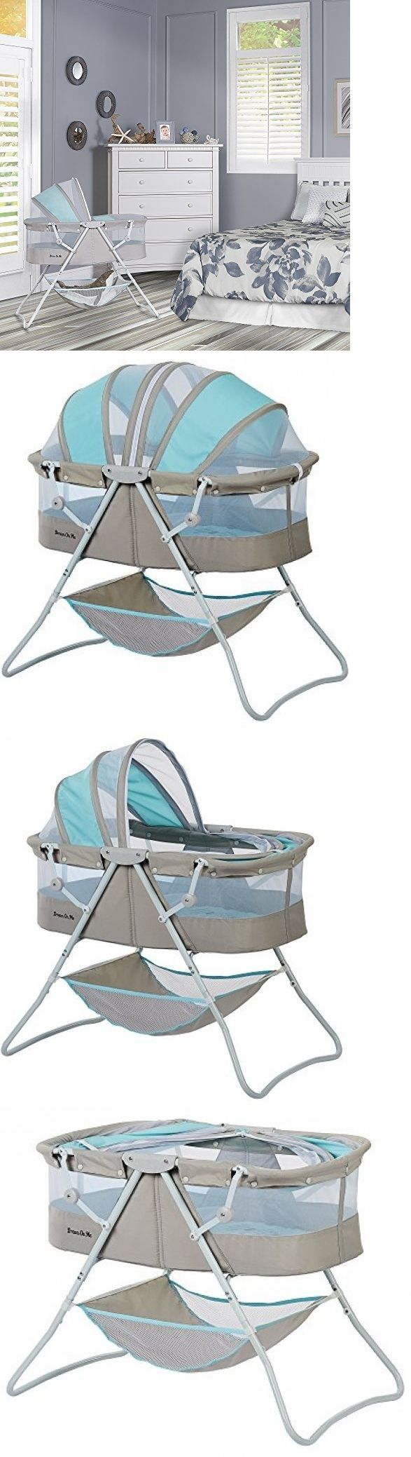 Baby Nursery: Portable Baby Bassinet Crib Infant Bed Cradle Nursery Sleeper Newborn Travel New BUY IT NOW ONLY: $76.99