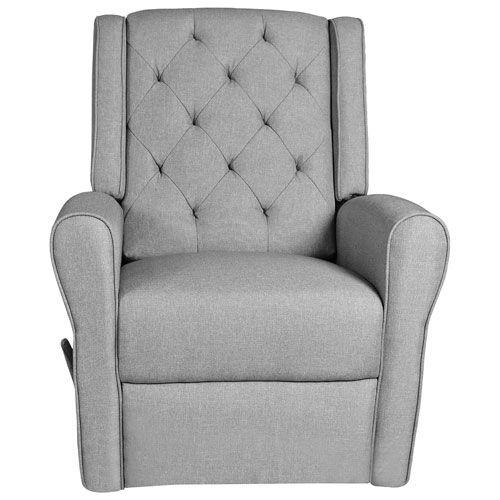 Kidiway Helen Swivel Glider   Light Grey : Glider Chairs U0026 Rockers   Best  Buy Canada