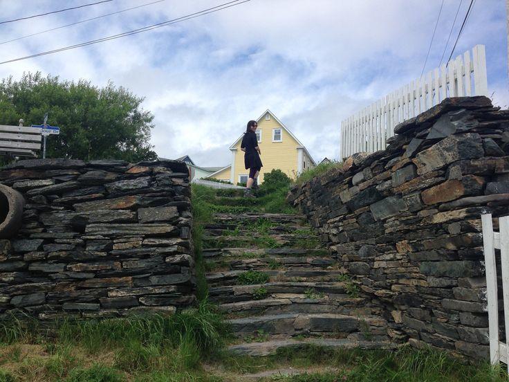 Stairs in Brigus, Newfoundland  #ExploreNL, #ExploreCanada, #VisitNewfoundland, #wwwYYT  https://flic.kr/p/xVK73W | wg_P2015-08-05 12.58.24 |