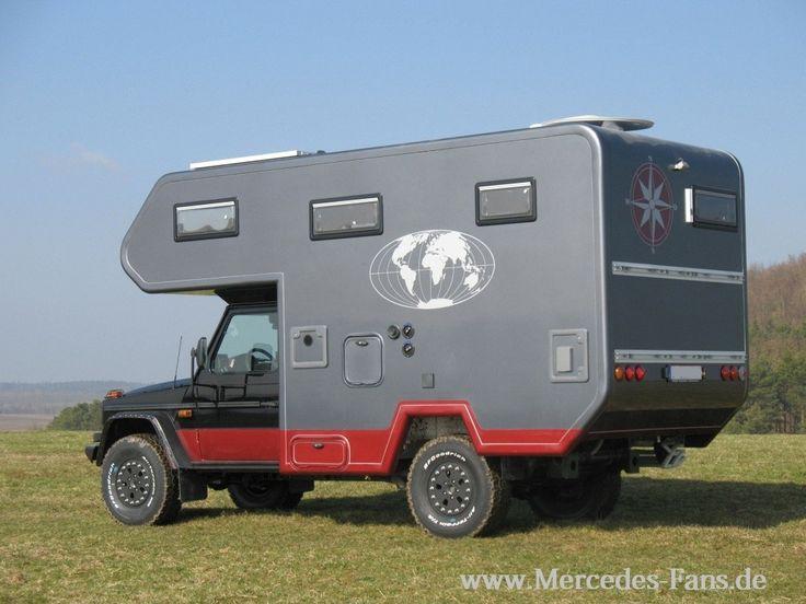 mercedes g wagen 4x4 overland camper overland pinterest mercedes g campers and 4x4. Black Bedroom Furniture Sets. Home Design Ideas