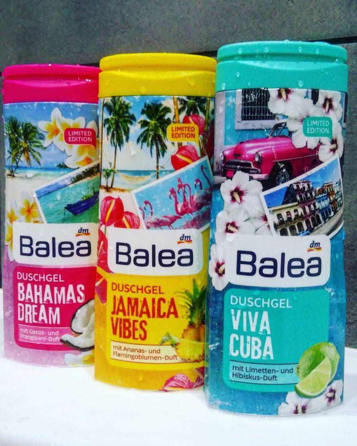 Balea shower gel Bahamas Dream, Jamaica Vibes, Viva Cuba DM