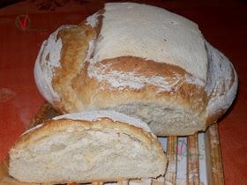 Pan de hogaza casero