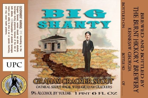 Georgia: Burnt Hickory Brewery Big Shanty Graham Cracker Stout | 50 Beers With Local Pride