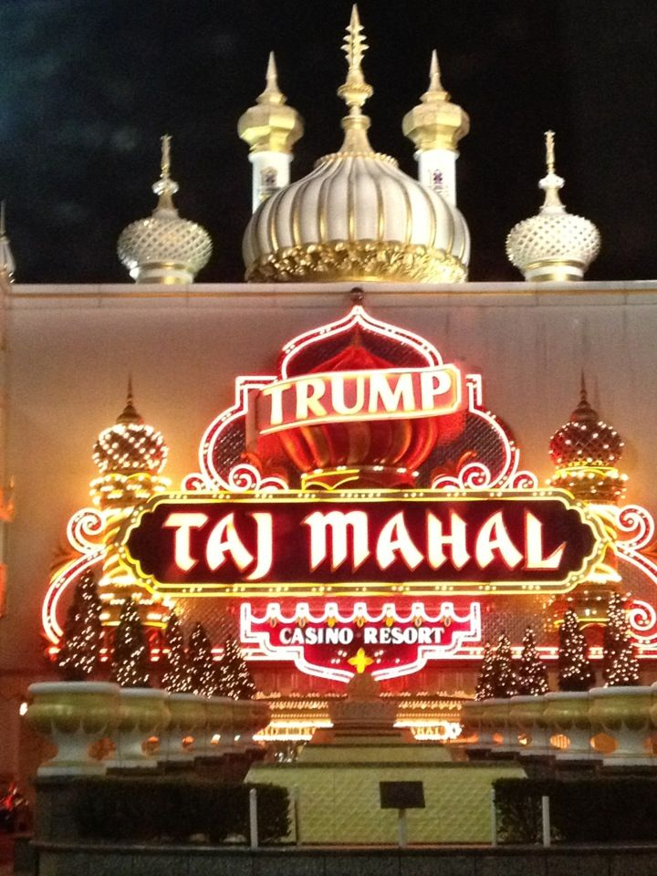 Trump Taj Mahal Casino Resort in Atlantic City, NJ