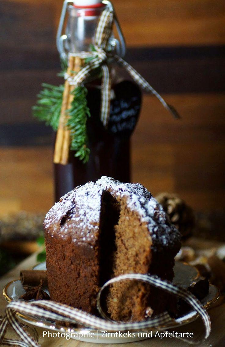 Schokoladen-Punsch-Kuchen im Glas