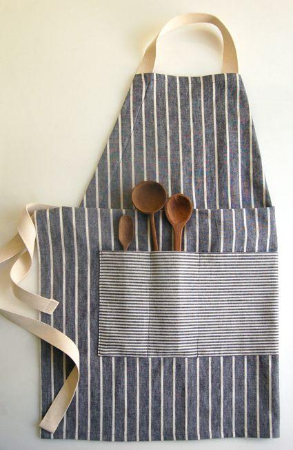 Unisex apron sewing tutorial
