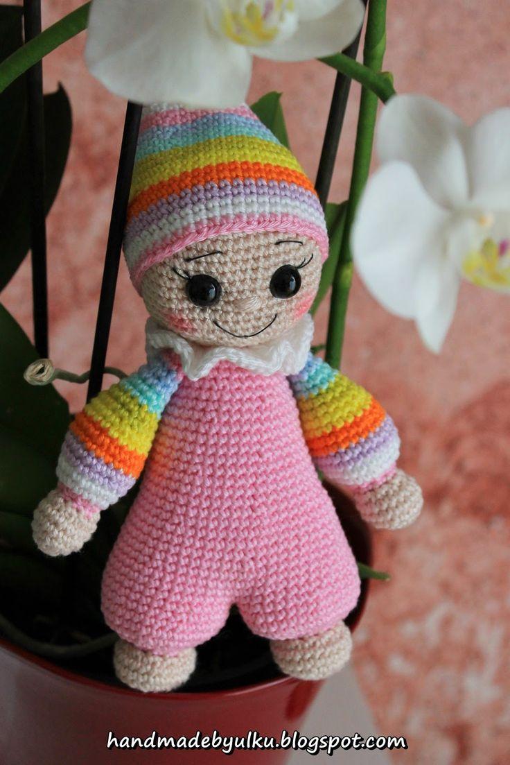 Ein Blog für Amigurumi, Puppen, Häkeltiere, Babyschuhe, Mützen, Gratis Anleitungen, Free Pattern und noch mehr