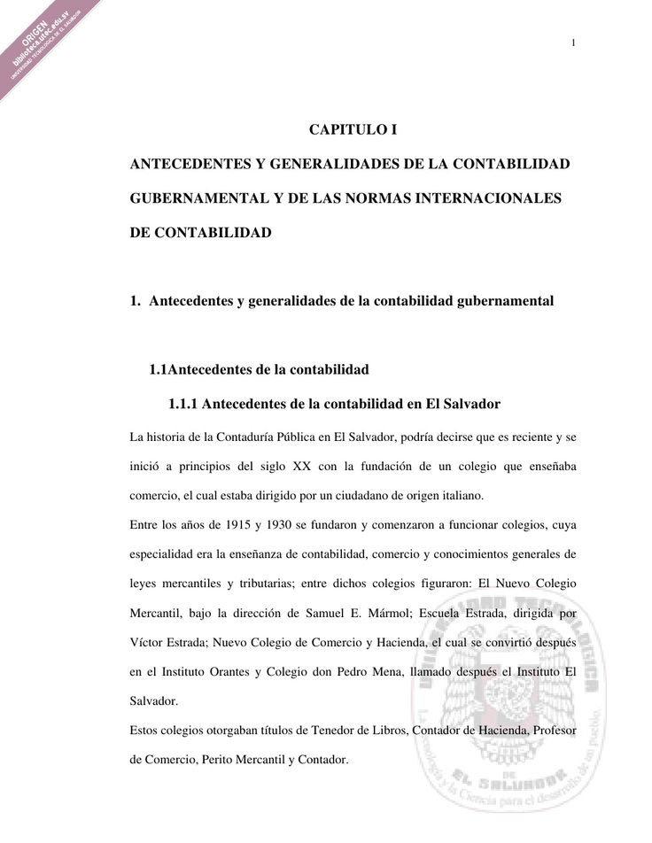Contabilidad gubernamental by Amadeo Estupinian via slideshare