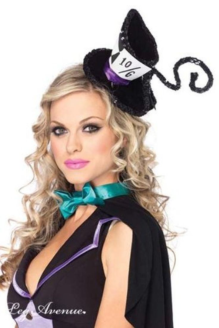 Deluxe Mad Hatter Hat Black O/S