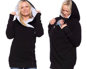 2in1 BABYWEARING COAT Babywearing double by Comfort4Pregnant