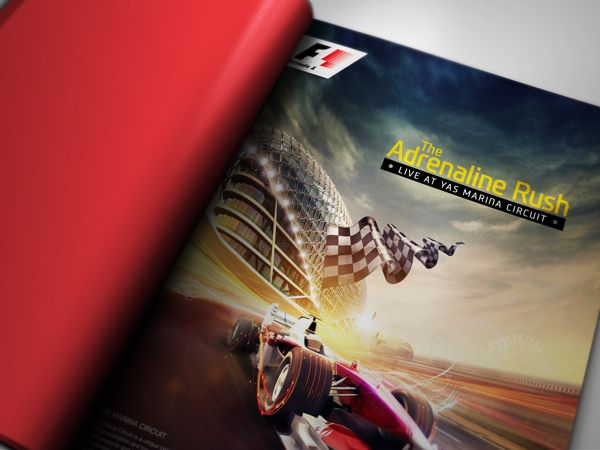 Formula 1 by ICON Advertising LLC, via Behance