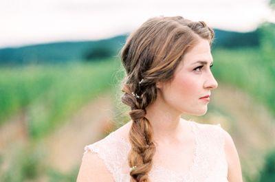 Peinados de novia 2017. ¡Descubre estilos de tendencia!