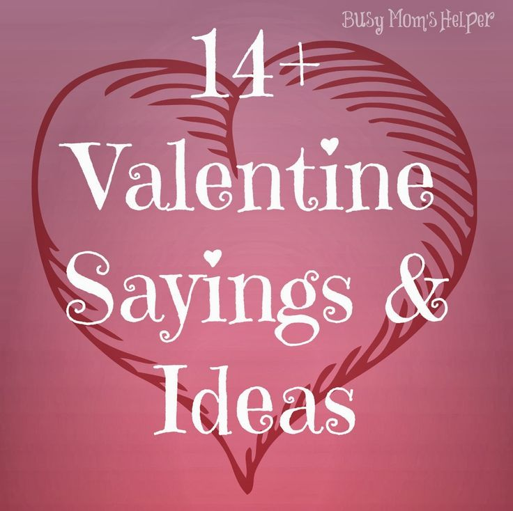 Cute Toddler Valentines Day Quotes: Best 25+ Valentine Sayings Ideas On Pinterest
