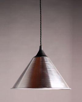 Polished Aluminium British Army Pendant Lights www.fritzfryer.co.uk