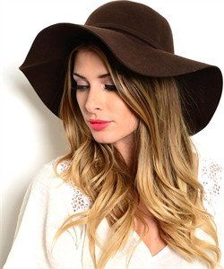 Brown Floppy Hat