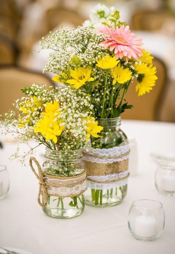64 prachtige zomer bruiloft centerpieces ideeën die zeker geweldig zijn