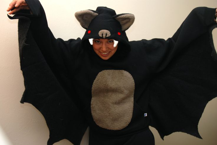 Homemade Bat Costumes | bat costume | you and mie