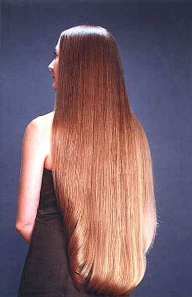How to get this hair... Melt coconut oil and brush it into your hair. After 10-15 minutes rinse out w/ shampoo. Do this once a week to get your hair to grow and to reduce split ends.