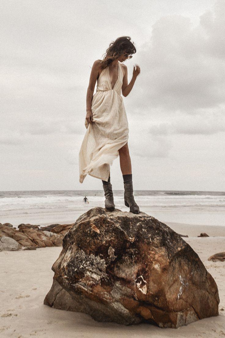 Morrisday Savannah Boho Maxi Dress Sand