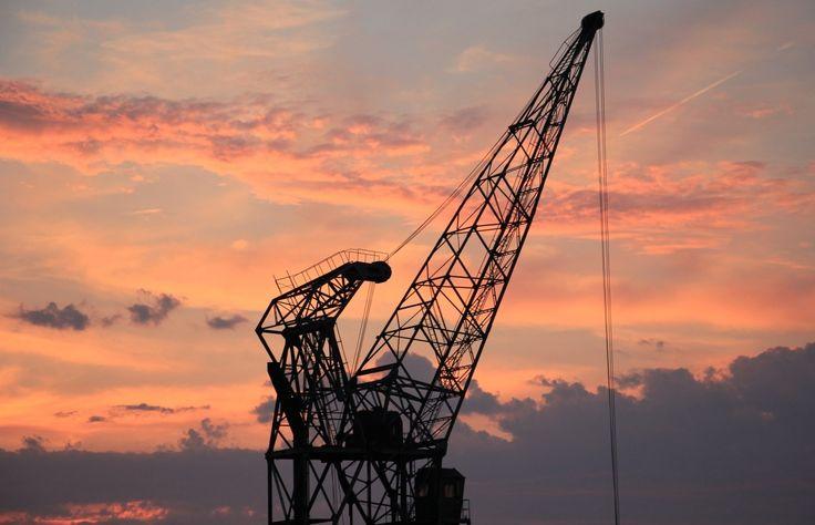 harbour-crane-Ball screw repair