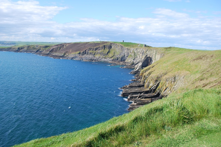 The coastline at Old Head in Kinsale - oh to be back in Ireland!