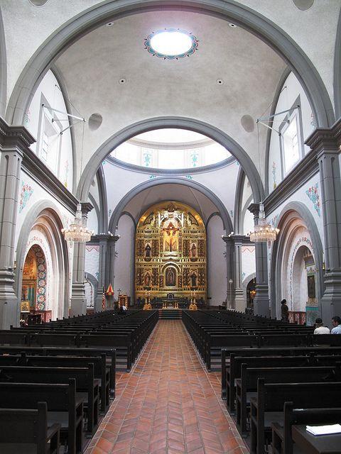 San Juan Capistrano Catholic Basilica, San Juan Capistrano, California