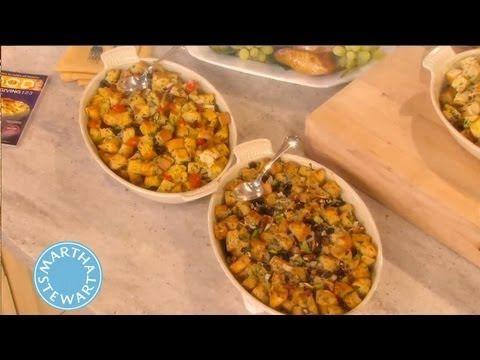 Basic Bread Stuffing How-To | Thanksgiving Recipes | Martha Stewart