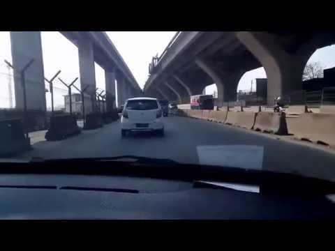 Flyover Cakung Cilincing Tanjung Priok in progress - YouTube
