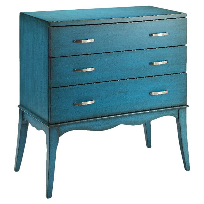 Azure blue chest of drawers #furniture_design