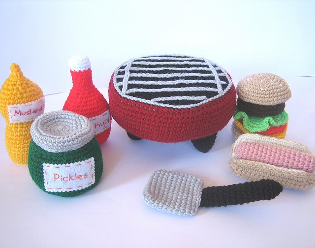 BBQ Play Set by craftyanna, via Flickr