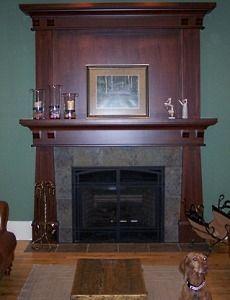 Craftsman Fireplace   Craftsman Fireplace