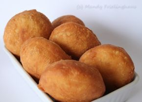 Vetkoek - A traditional South African comfort food which goes down well with soups or stew. Also amazing if you hollow them out and fill them with savory mince or curry.