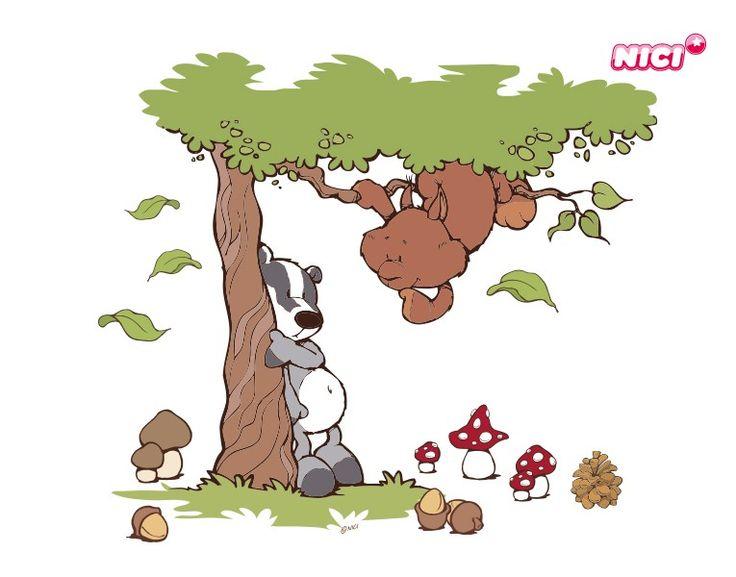 Nici Wandtattoo Wild Friends : Ideas about wandtattoos kinderzimmer on