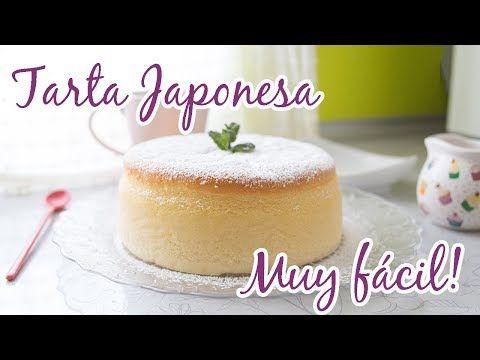Tarta de queso JAPONESA MUY FÁCIL!!! | La Dulce Eva - YouTube