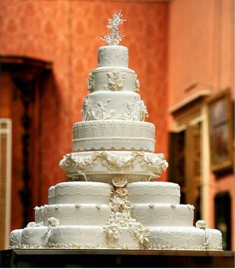 Kate and William's wedding cake